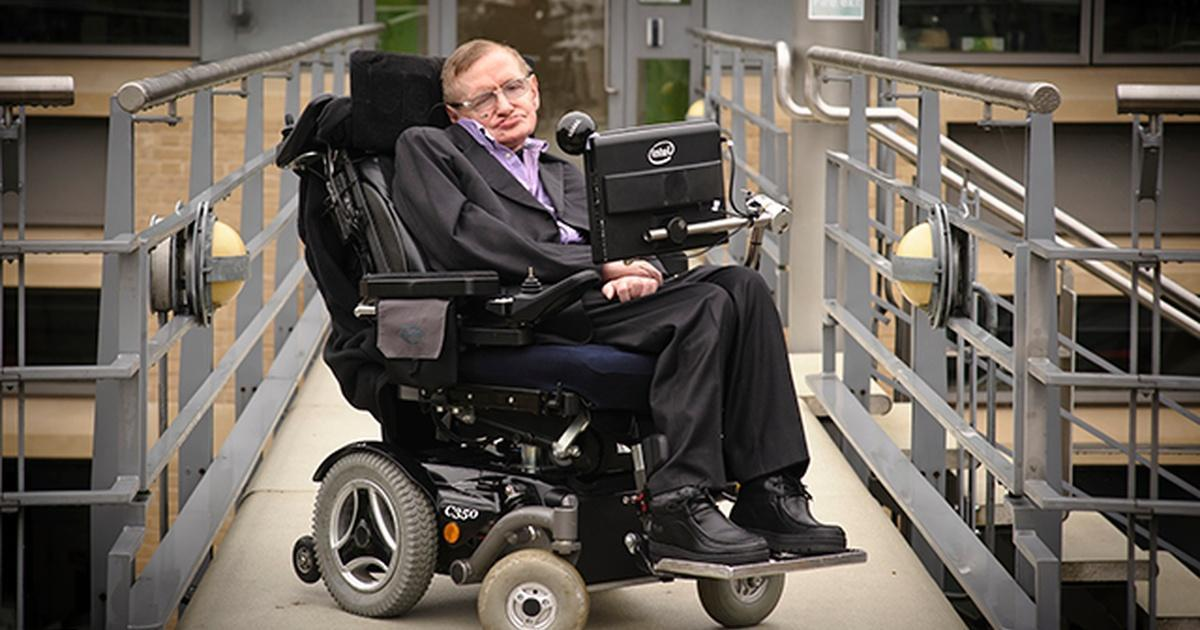 Hawking Image Provided by Darlow Smithson Productions