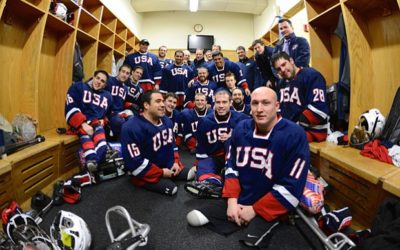 Ice Warriors USA Sled Hockey
