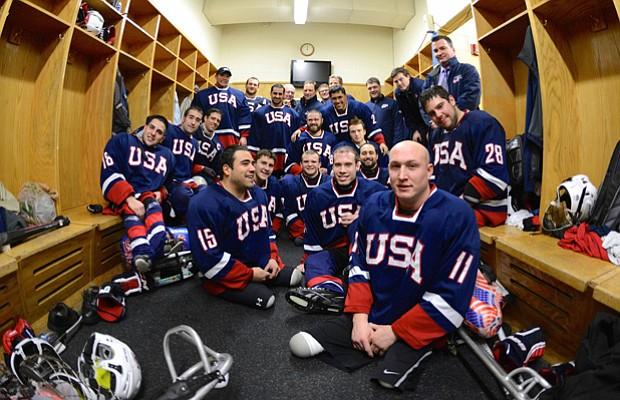 Ice Warriors USA Sled Hockey