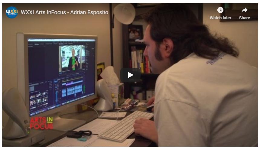 Arts InFocus   Adrian Esposito