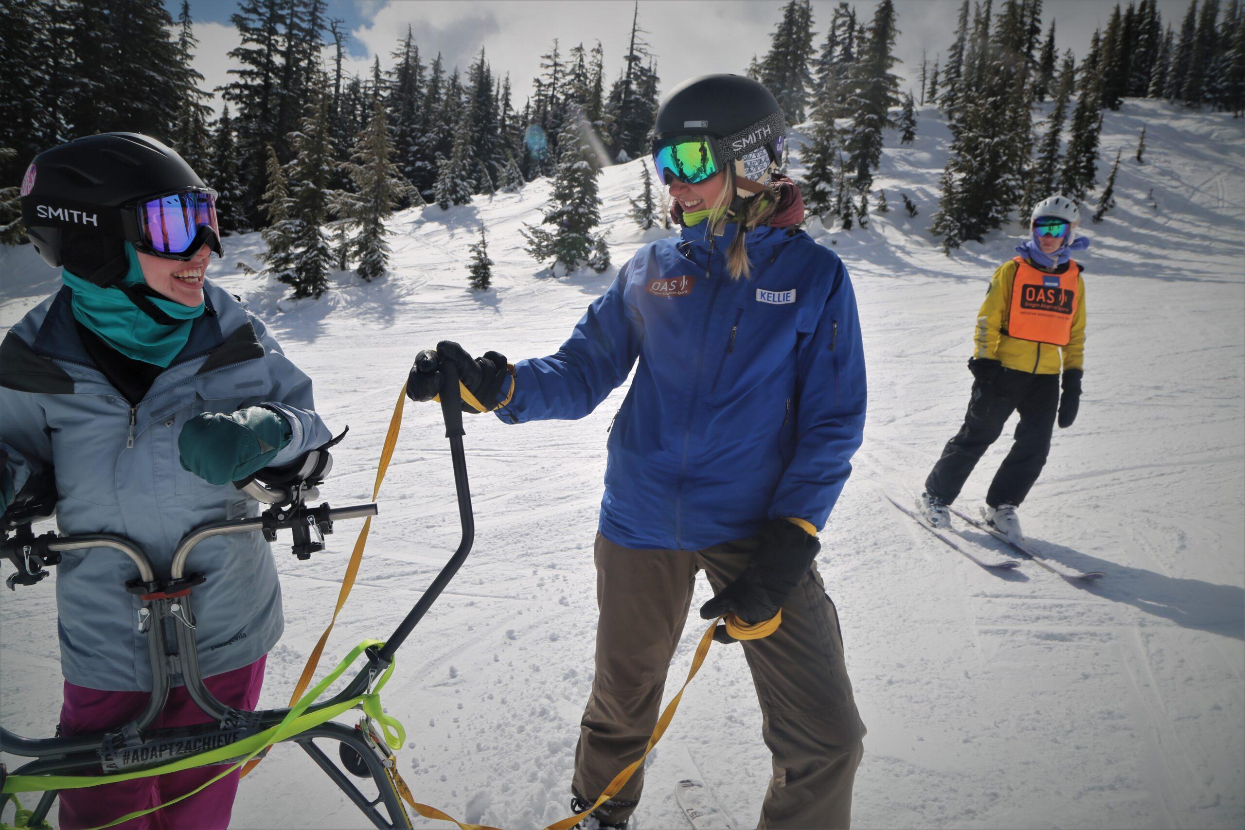 OPB | Adaptive Skiing with Jana Sherry